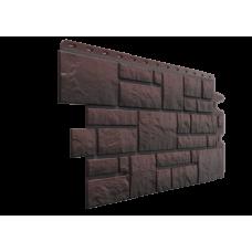 Фасадная панель под камень Docke-R Burg Темный 0,42 м2