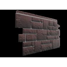 Фасадная панель под камень Docke-R Burg Земляной 0,42 м2