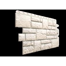 Фасадная панель под камень Docke-R Burg Белый 0,42 м2