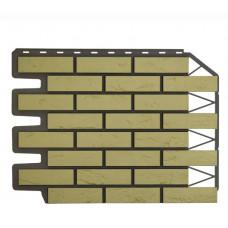 Фасадная панель FineBer Дачный Кирпич Баварский Песочный 0,47 м2