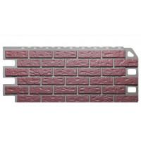 Фасадная панель FineBer Кирпич Красный 0,53 м2