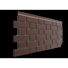 Фасадная панель под кирпич Docke-R Flemish Коричневый 0,46 м2