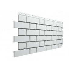 Фасадная панель под кирпич Docke-R Flemish Белый 0,46 м2