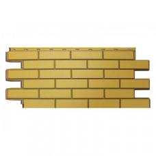 Фасадная панель Nordside Гладкий Кирпич Желтый 0,52 м2