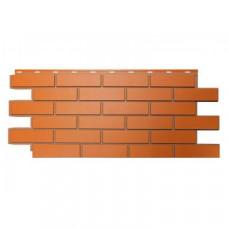 Фасадная панель Nordside Гладкий Кирпич Красный 0,52 м2