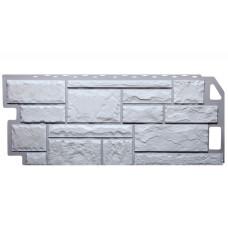 Фасадная панель FineBer Камень Мелованный Белый 0,53 м2