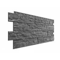 Фасадная панель под песчаник Docke-R Stein Антрацит 0,44 м2