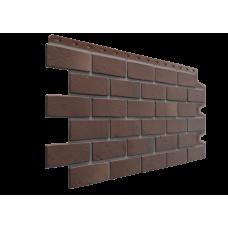 Фасадная панель под кирпич Docke-R Berg Коричневый 0,44 м2