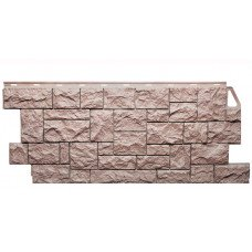 Фасадная панель FineBer Камень Дикий Терракотовый 0,52 м2