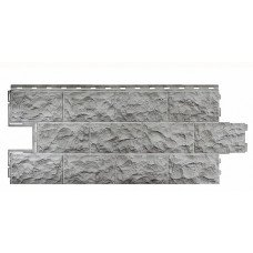 Фасадная панель FineBer Дачный Доломит Светло-серый 0,54 м2