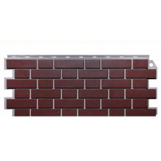 Фасадная панель FineBer Дачный Кирпич Клинкерный Жженый 0,52 м2