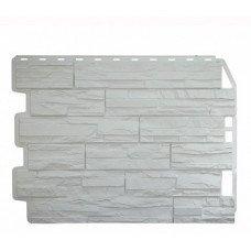 Фасадная панель FineBer Дачный Скол Белый 0,47 м2