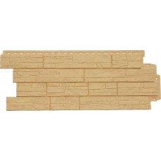 Фасадная панель Grand Line Стандарт Сланец Песочный 0,46 м2