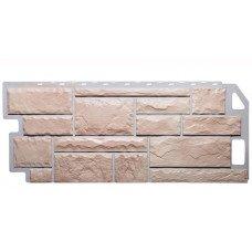 Фасадная панель FineBer Камень Бежевый 0,53 м2