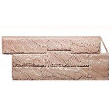 Фасадная панель FineBer Камень Крупный Терракотовый 0,49 м2