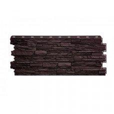 Фасадная панель Nordside Сланец Шоколадный 0,52 м2