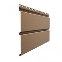 Сайдинг виниловый Docke Premium Брус (D 6S) Капучино