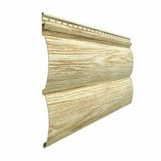 Сайдинг виниловый Docke LUX Блок-Хаус (D 4,7T) Рябина
