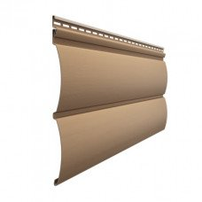 Сайдинг виниловый Docke Premium Блок-Хаус (D 4,7T) Капучино