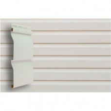 Сайдинг виниловый Grand Line Корабельная доска (D 4,4) Белый 3,6 м