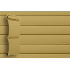Сайдинг виниловый Grand Line Блок-хаус (D 4,8) Карамельный