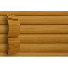 Сайдинг виниловый Grand Line Блок-хаус Тундра (D 4,8) Клен