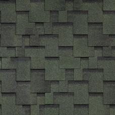 Мягкая кровля Технониколь Shinglas (Финская) Аккорд Зеленый