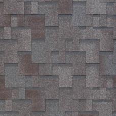 Мягкая кровля Tegola Nobil Tile Акцент Серо-коричневый