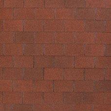 Мягкая кровля Tegola Nobil Tile Лофт Красно-коричневый