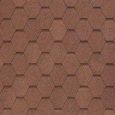 Мягкая кровля Tegola Nobil Tile Вест Светло-коричневый