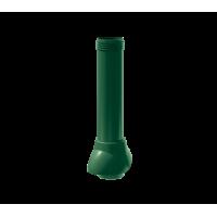 Канализационный выход неизолированный Технониколь 110/500 мм Зеленый
