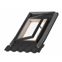 Окно-выход на кровлю для холодных чердаков Velux OPTIMA Стандарт VLT 1000 45х55