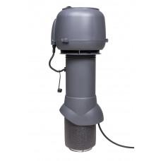 Вентилятор кровельный Vilpe E 120P 125/500 Серый