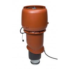 Вентилятор кровельный Vilpe E 190P 125/500 Кирпичный