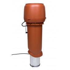 Вентилятор кровельный Vilpe E 220P 160/700 Кирпичный