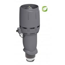 Вентилятор кровельный Vilpe ECO 125P/700 FLOW Серый