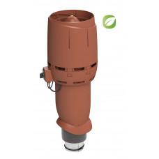 Вентилятор кровельный Vilpe ECO 125P/700 FLOW Кирпичный
