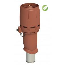 Вентилятор кровельный Vilpe ECO 160P/700 FLOW Кирпичный