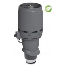 Вентилятор кровельный Vilpe ECO 125P/500 FLOW Серый