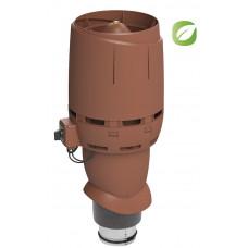 Вентилятор кровельный Vilpe ECO 125P/500 FLOW Кирпичный