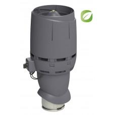 Вентилятор кровельный Vilpe ECO 160P/500 FLOW Серый