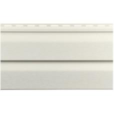 Виниловый сайдинг Vinylon Dutchlap (D 4,5) Белый 3,66 м