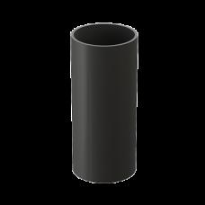 Труба водосточная круглая ПВХ Docke LUX 100 мм Графит 1 м