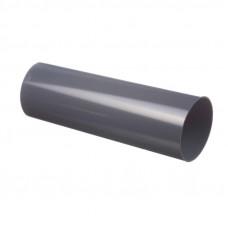 Труба водосточная круглая ПВХ Docke LUX 100 мм Графит 3 м