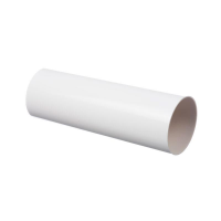Труба водосточная круглая ПВХ Docke LUX 100 мм Пломбир 3 м