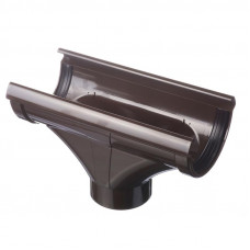 Воронка желоба ПВХ Docke LUX 141/100 мм Шоколад
