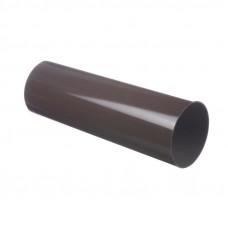 Труба водосточная круглая ПВХ Docke LUX 100 мм Шоколад 3 м