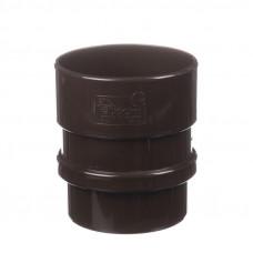 Муфта трубы соединительная ПВХ Docke LUX 100 мм Шоколад
