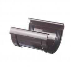 Соединитель желоба ПВХ Docke LUX 141 мм Шоколад