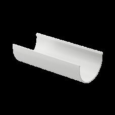 Желоб водосточный полукруглый ПВХ Docke Premium 120 мм Пломбир 3 м